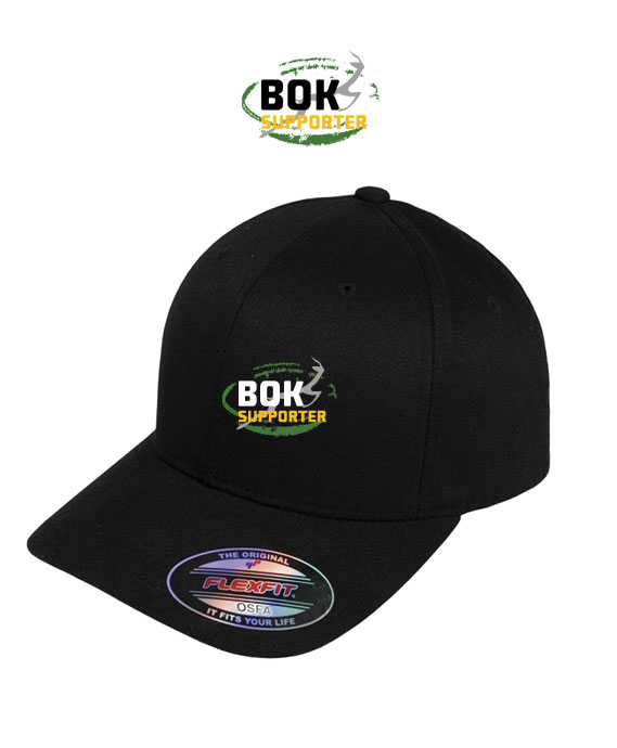 Bok Supporter Flexfit Cap Black